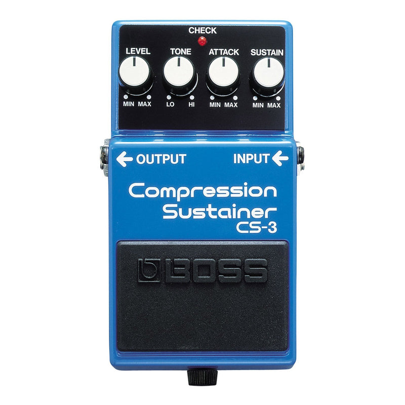 CS3-Boss CS-3 Compression Sustainer Guitar Effects Pedal-Living Music