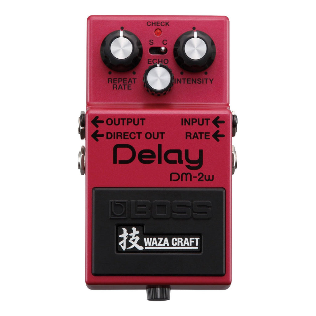 DM2W-Boss DM-2W Waza Craft Delay Guitar Effects Pedal-Living Music