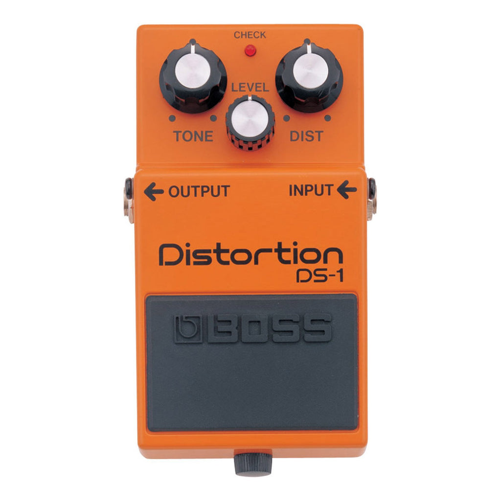 DS1-Boss DS-1 Distortion Guitar Effects Pedal-Living Music