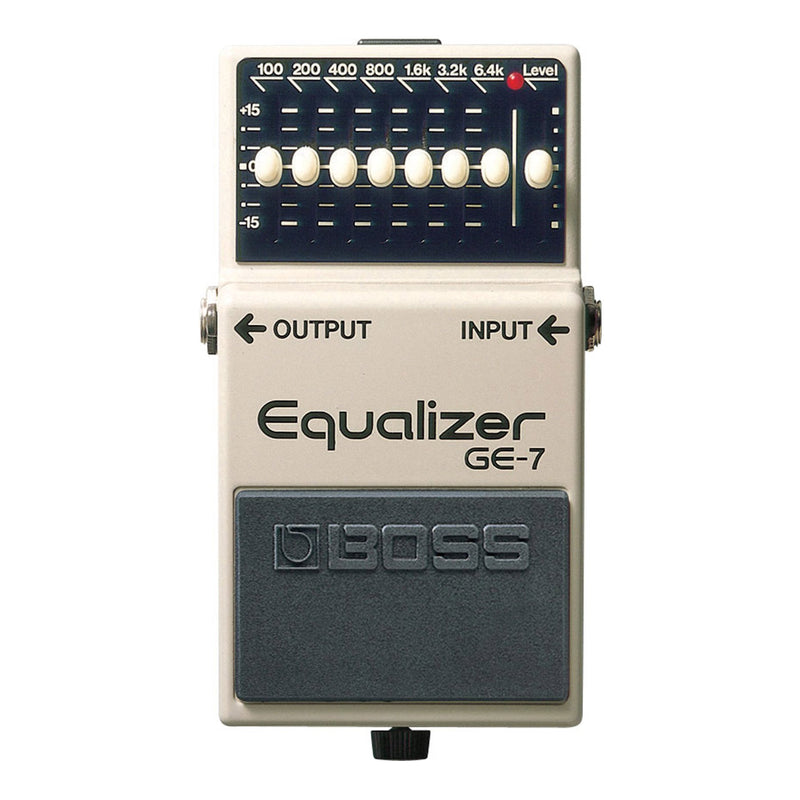 GE7-Boss GE-7 Graphic Equalizer Guitar Effects Pedal-Living Music