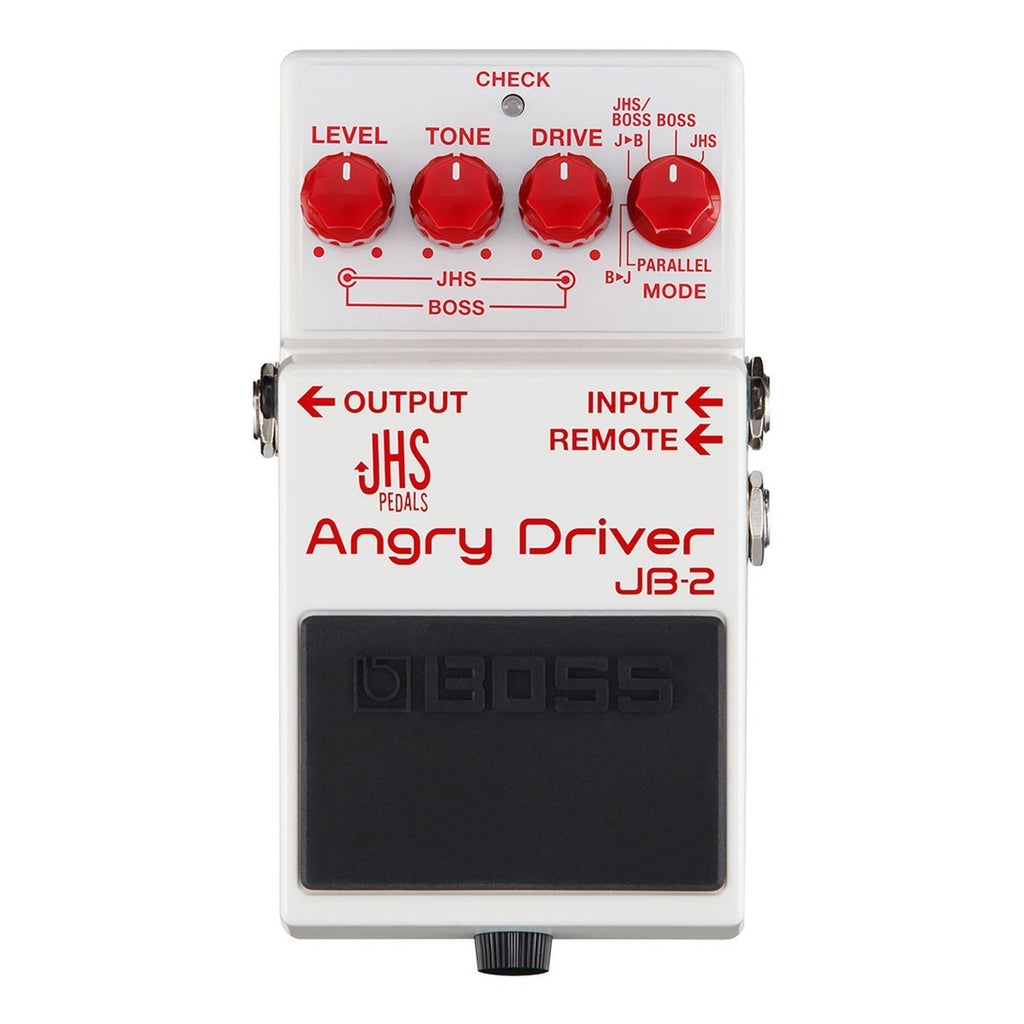 JB2-Boss JB-2 Angry Driver Guitar Effects Pedal-Living Music