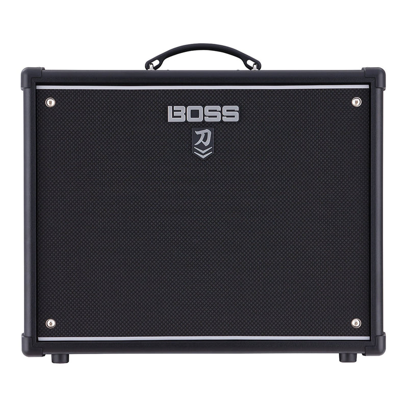 KTN1002-Boss Katana-100 MkII 100 Watt Single Speaker Combo Solid State Guitar Amplifier with Effects-Living Music