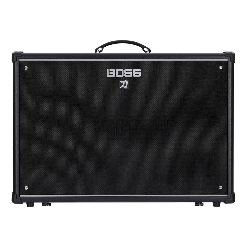 KTN100/212-Boss Katana-100/212 100 Watt Dual Speaker Combo Solid State Guitar Amplifier with Effects-Living Music