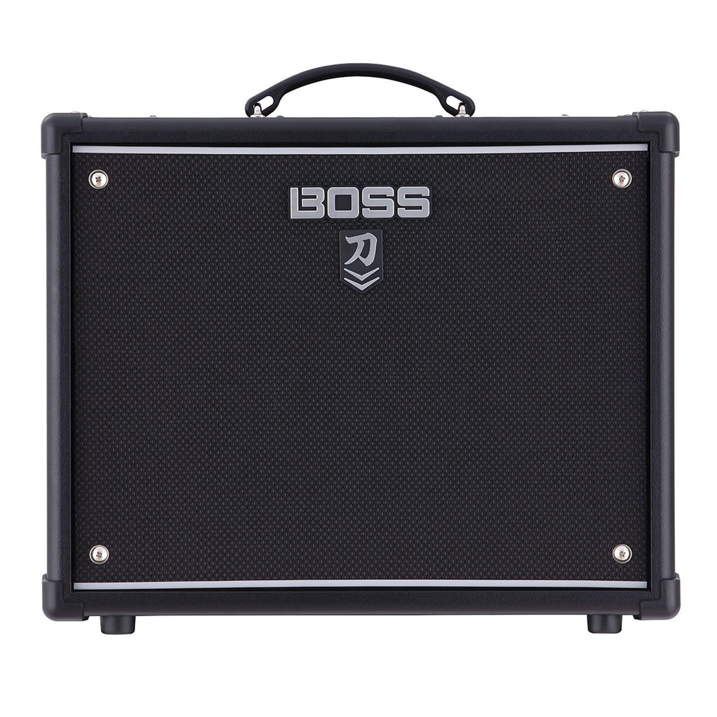 KTN502-Boss Katana-50 MkII 50 Watt Combo Solid State Guitar Amplifier with Effects-Living Music