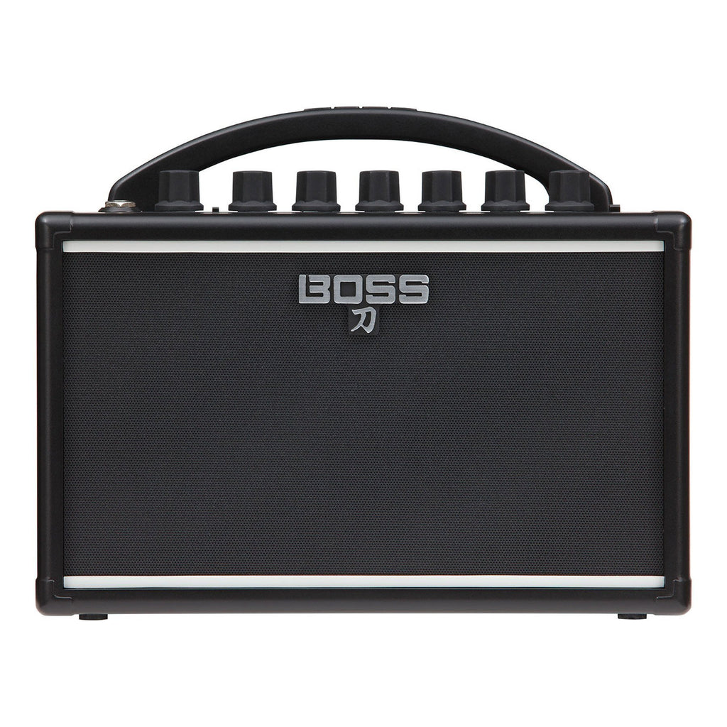 KTNMINI-Boss 'Katana Mini' 7 Watt Combo Guitar Amplifier-Living Music