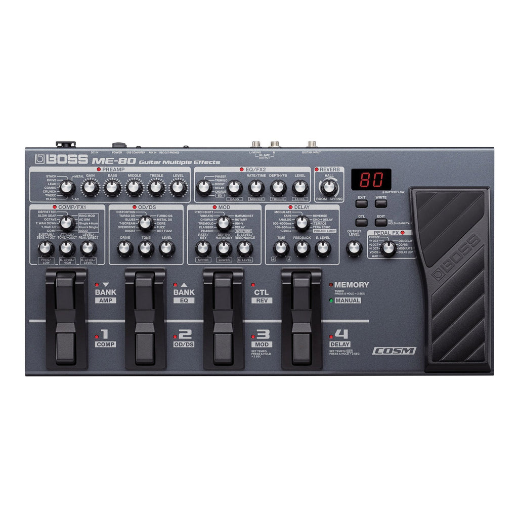 ME80-Boss ME-80 Guitar Multi Effects Processor-Living Music