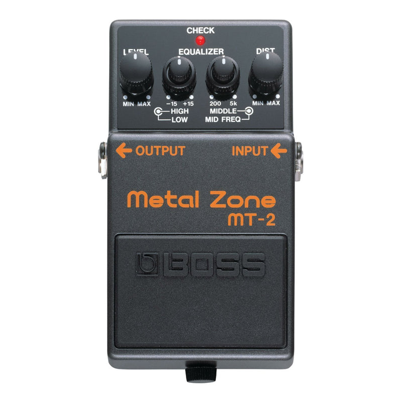 MT2-Boss MT-2 Metal Zone Distortion Guitar Effects Pedal-Living Music