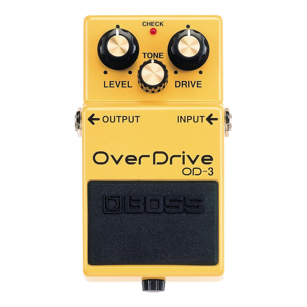 OD3-Boss OD-3 Overdrive Guitar Effects Pedal-Living Music
