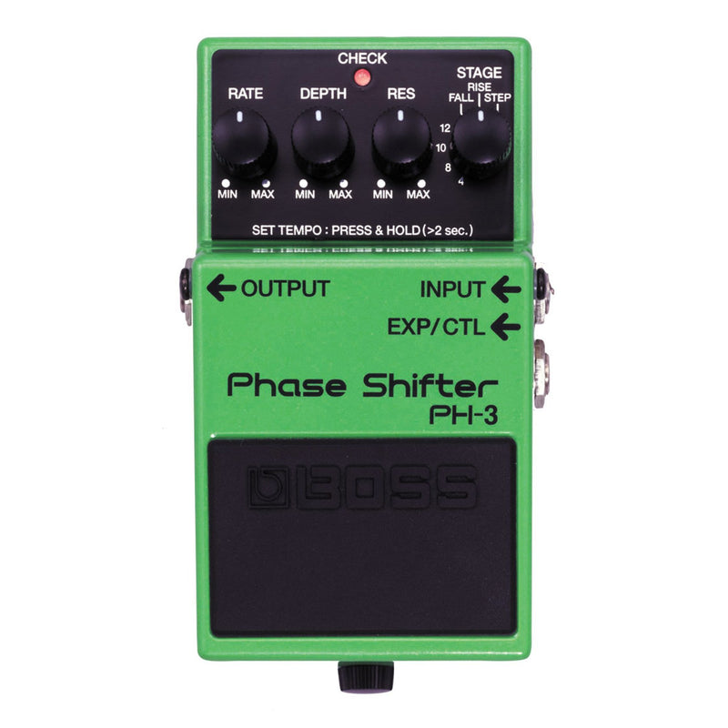 PH3-Boss PH-3 Phase Shifter Guitar Effects Pedal-Living Music