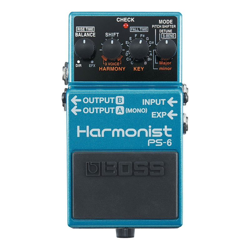 PS6-Boss PS-6 Harmonist Guitar Effects Pedal-Living Music