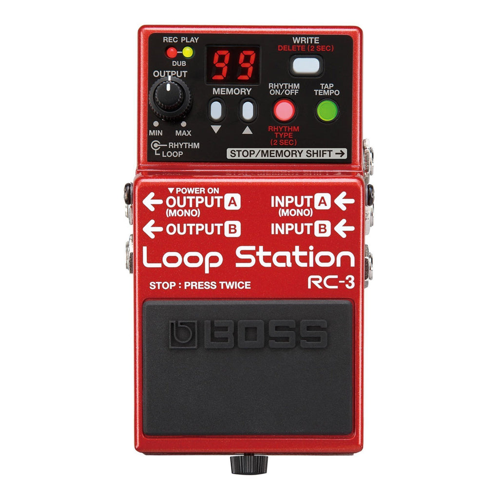 RC3-Boss RC-3 Loop Station Guitar Effects Pedal-Living Music