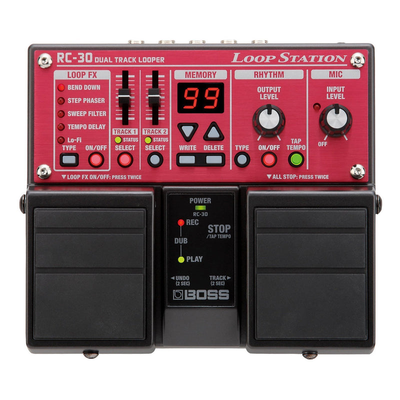 RC30-Boss RC-30 Loop Station Guitar Effects Pedal-Living Music