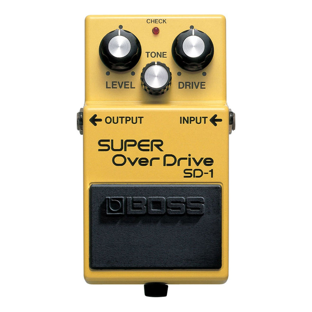 SD1-Boss SD-1 Super Overdrive Guitar Effects Pedal-Living Music