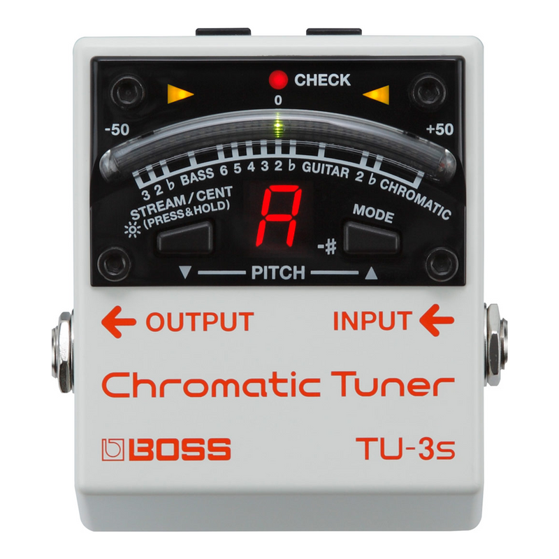 TU3S-Boss TU-3S Chromatic Tuner Guitar Pedal-Living Music