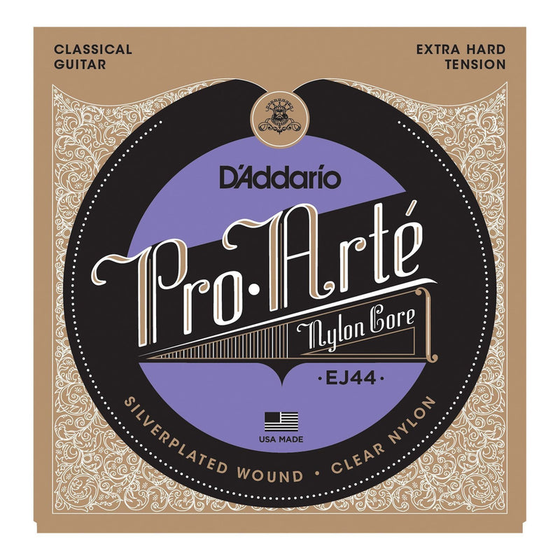 EJ44-D'Addario EJ44 Pro-Arte Classical Guitar Strings (Extra Hard Tension)-Living Music