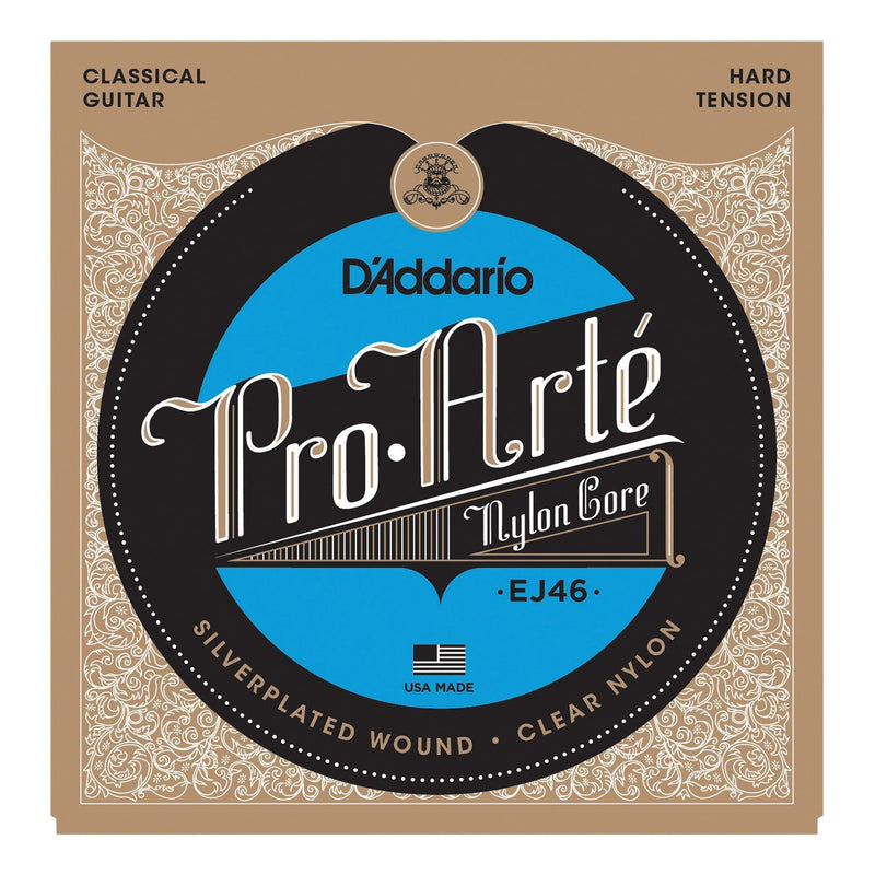 EJ46-D'Addario EJ46 Pro-Arte Classical Guitar Strings (Hard Tension)-Living Music