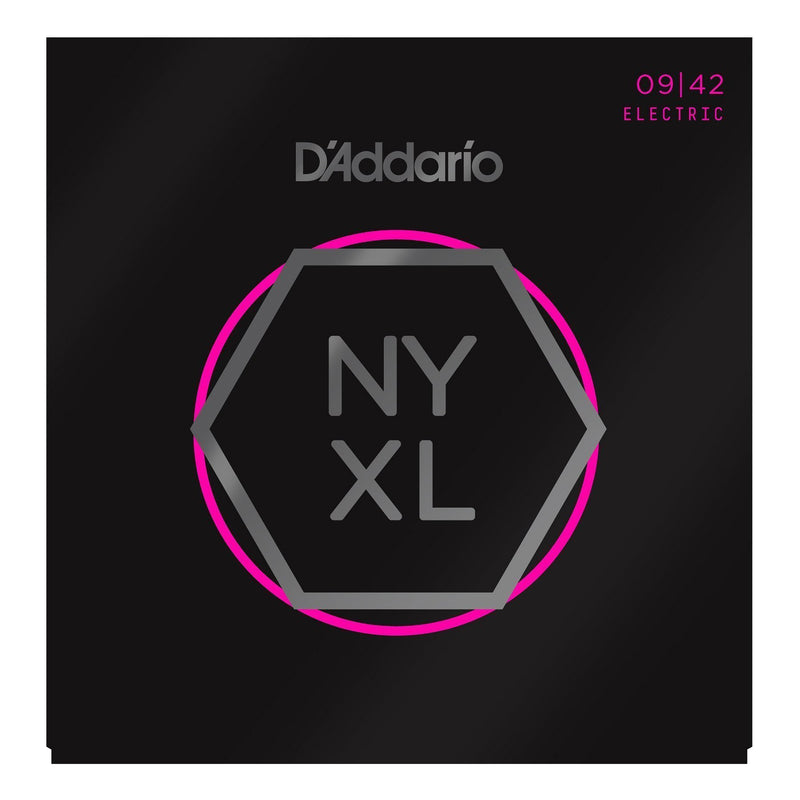 NYXL0942-D'Addario NYXL0942 Super Light Electric Guitar Strings (9-42)-Living Music
