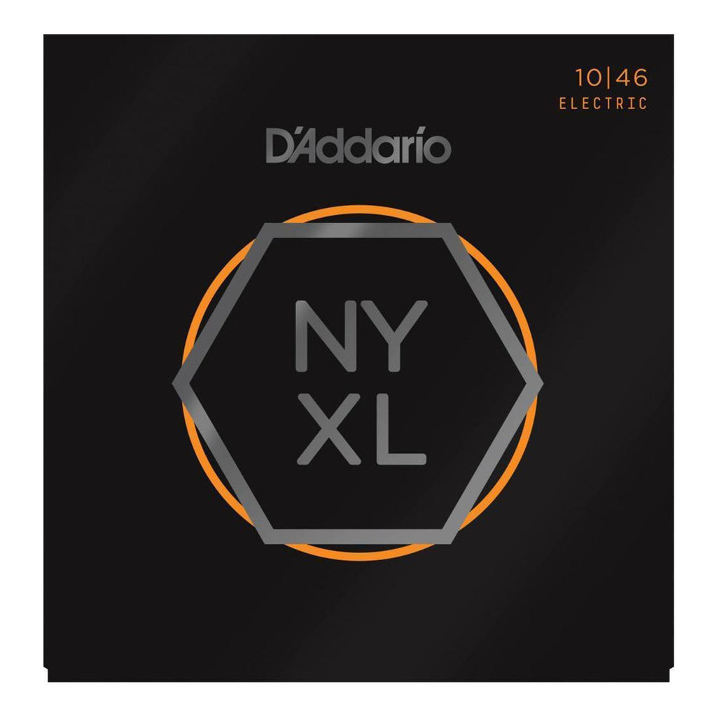 NYXL1046-D'Addario NYXL1046 Regular Light Electric Guitar Strings (10-46)-Living Music
