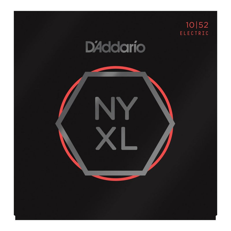 NYXL1052-D'Addario NYXL1052 Light Top/Heavy Bottom Electric Guitar Strings (10-52)-Living Music