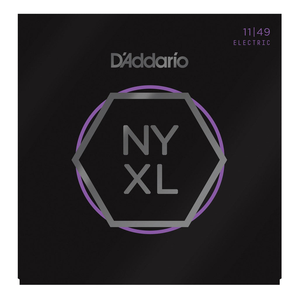 NYXL1149-D'Addario NYXL1149 Medium Electric Guitar Strings (11-49)-Living Music