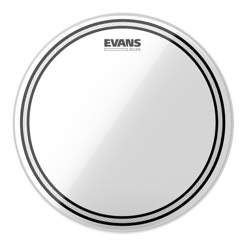 "TT16EC2S-Evans 'EC2S' 2-Ply Clear Drum Head (16"")-Living Music"