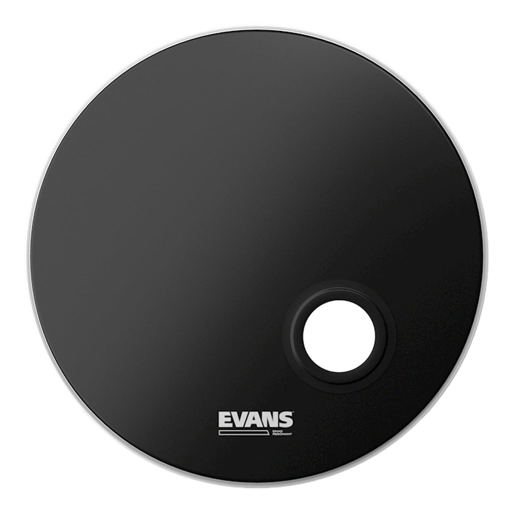 "BD22REMAD-Evans EMAD Resonant Single Ply Uncoated Bass Drum Head 22""-Living Music"