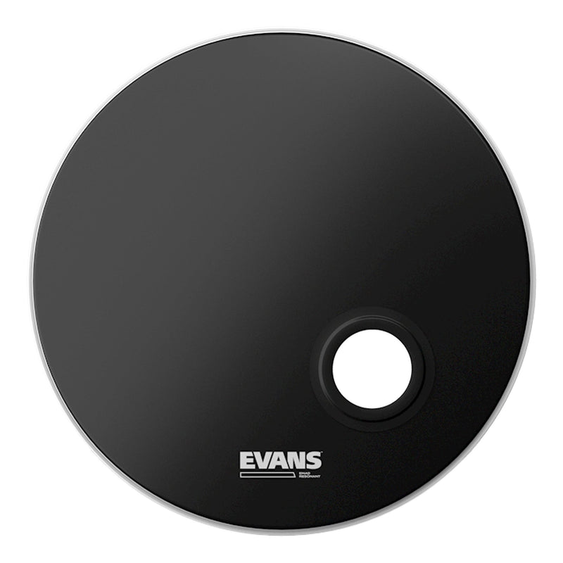 "BD22REMAD-Evans 'EMAD' Resonant Single Ply Uncoated Bass Drum Head (22"")-Living Music"