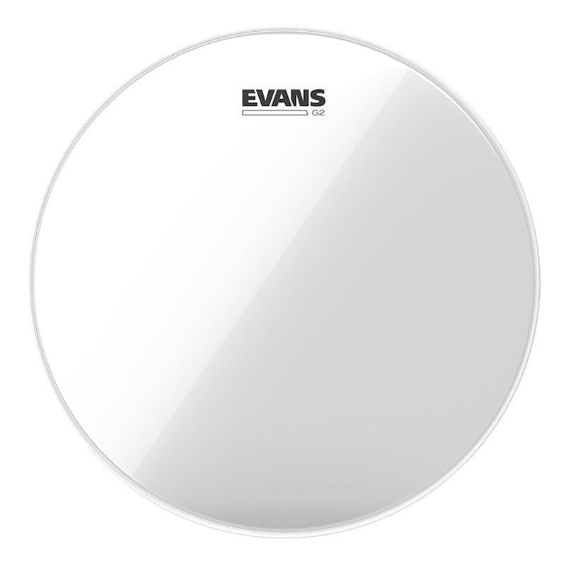 "TT12G2-Evans 'G2' 2-Ply Clear Drum Head (12"")-Living Music"