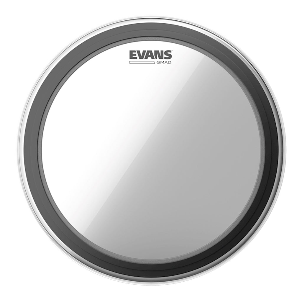 "BD22GMAD-Evans GMAD Single Ply Clear Bass Drum Head 22""-Living Music"