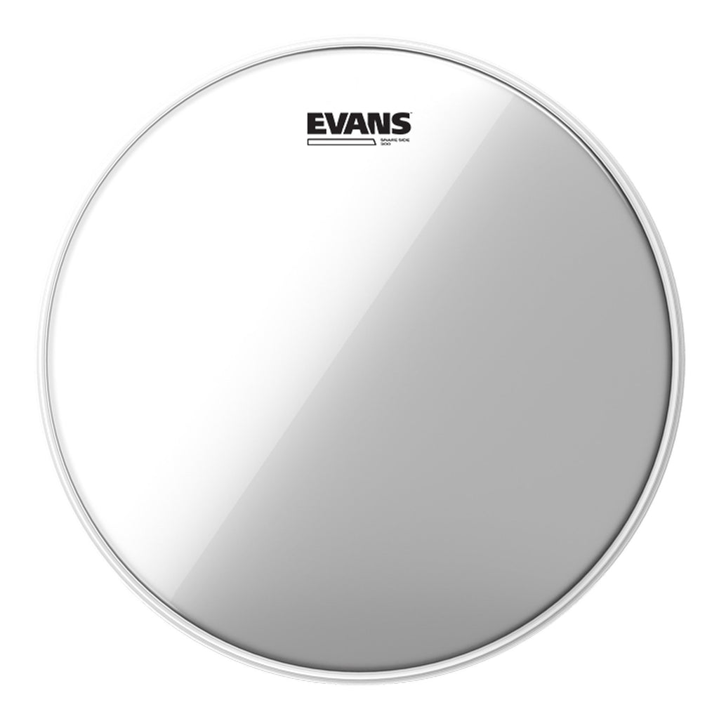 "S14H30-Evans Hazy 300 Resonant Snare Side Drum Head 14""-Living Music"