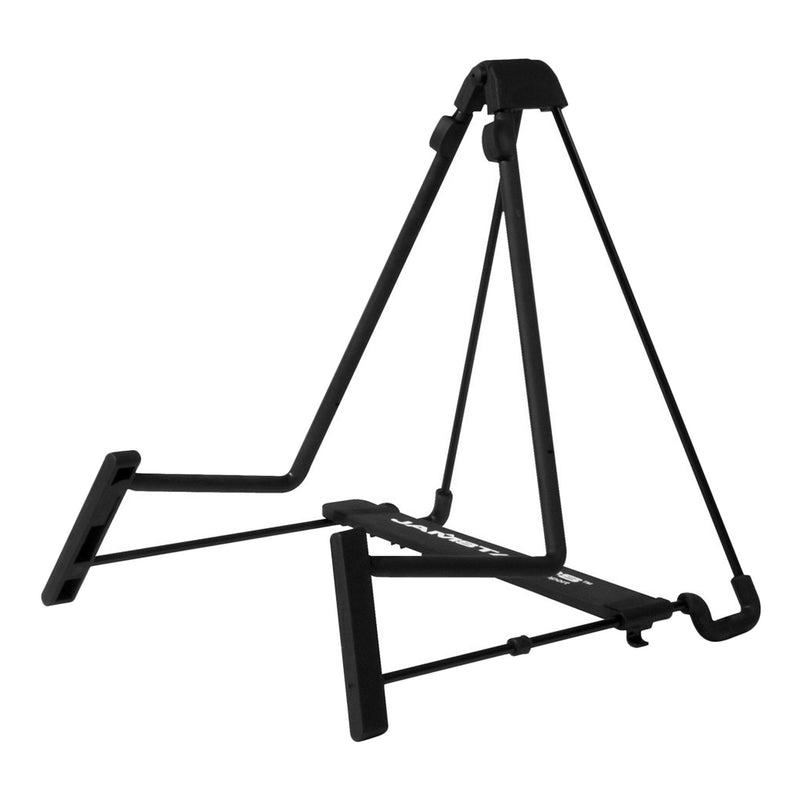 JS-AG75-JamStands A-Frame Adjustable Wire Guitar Stand (Black)-Living Music