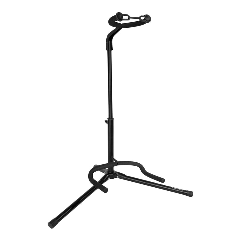 JS-TG101-JamStands Tubular Guitar Stand (Black)-Living Music