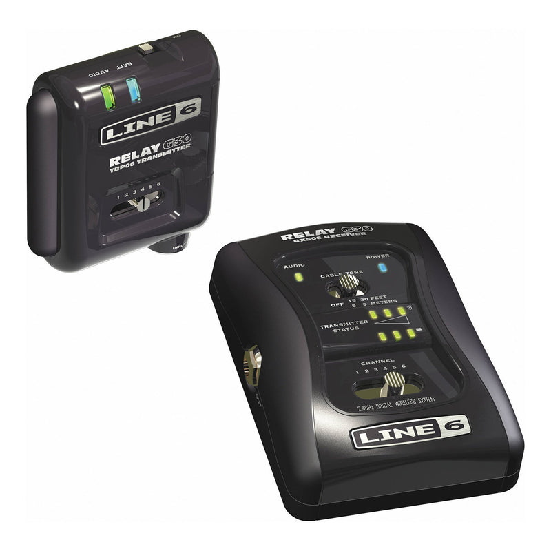 G30-Line 6 'Relay G30' Digital Wireless Guitar System-Living Music