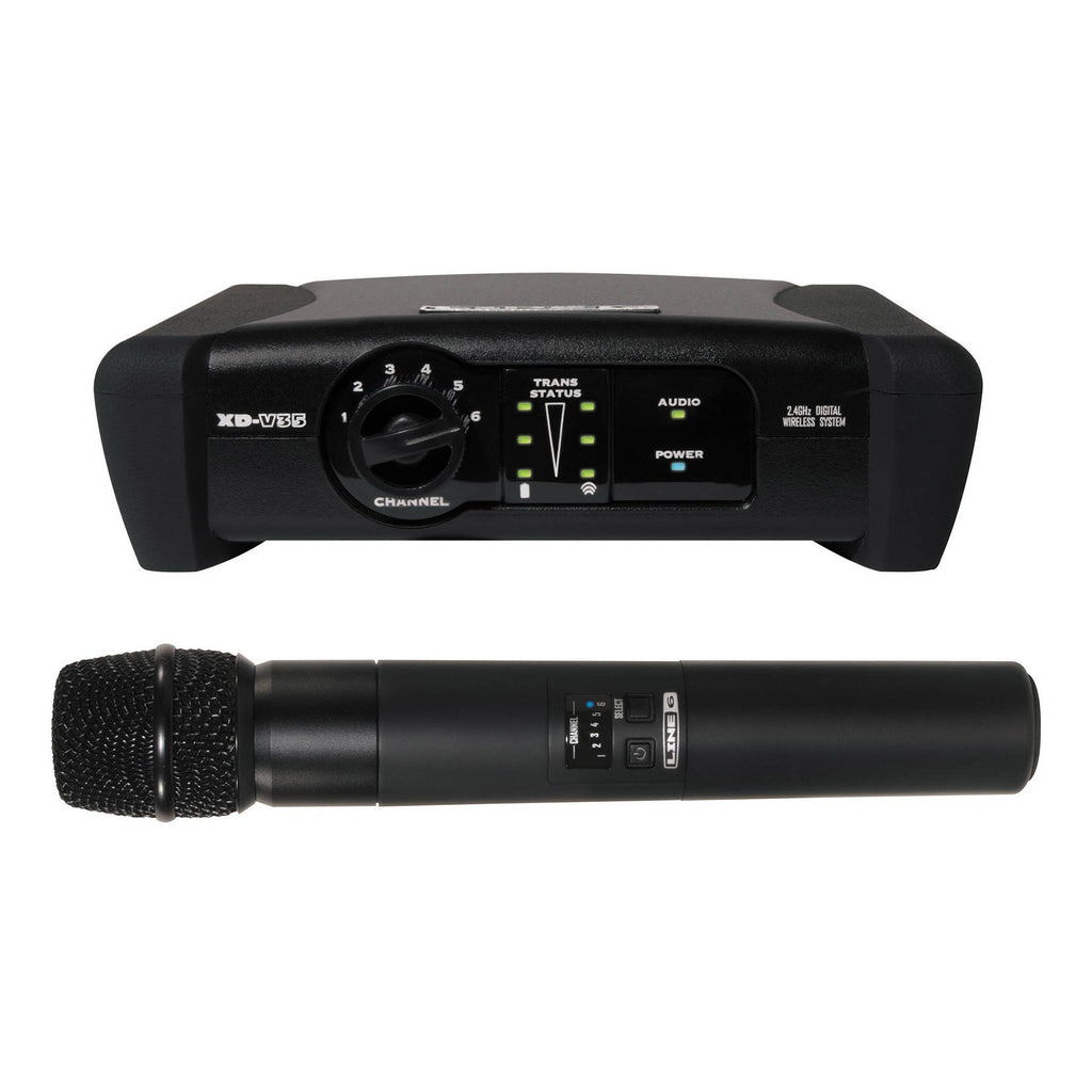 XD-V35-Line 6 'XD-V35' Wireless Microphone System with Handheld Microphone-Living Music