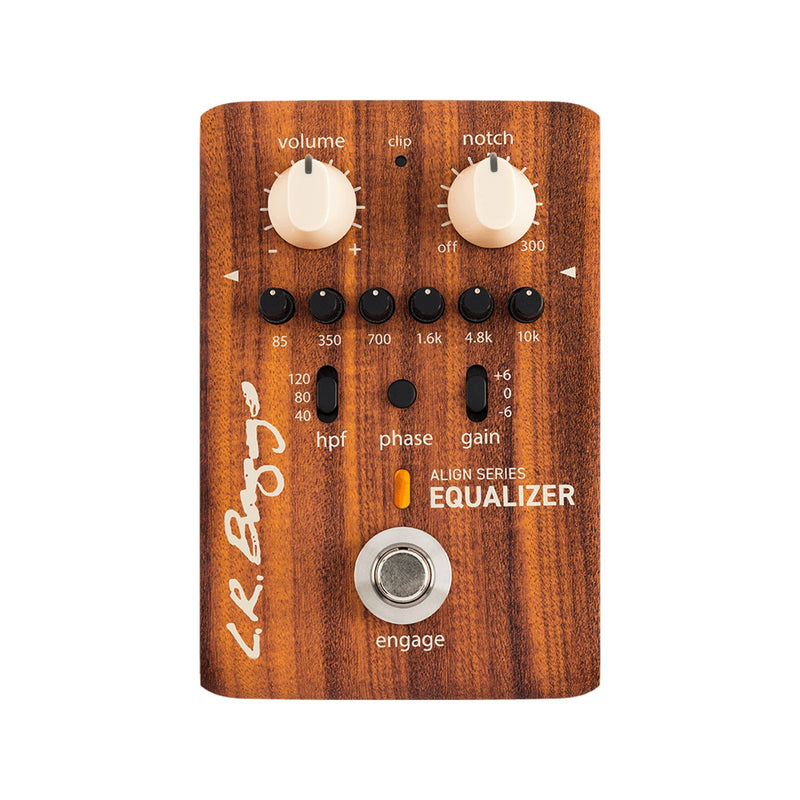 LRBALIGNEQ-LR Baggs Align Equaliser Acoustic Guitar Effects Pedal-Living Music