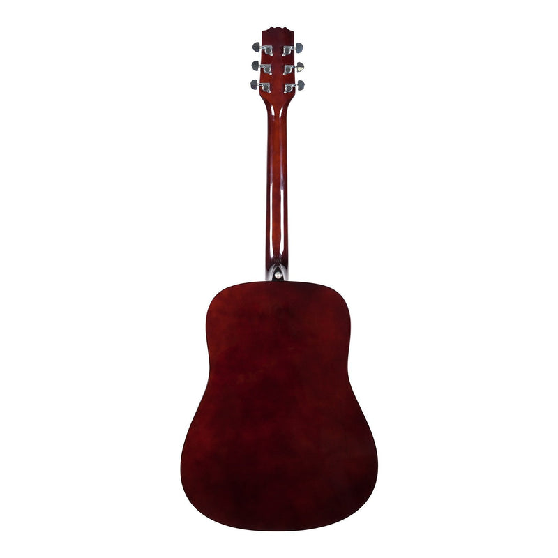 MD-31-NGL-Martinez Beginner Acoustic Dreadnought Guitar (Natural Gloss)-Living Music