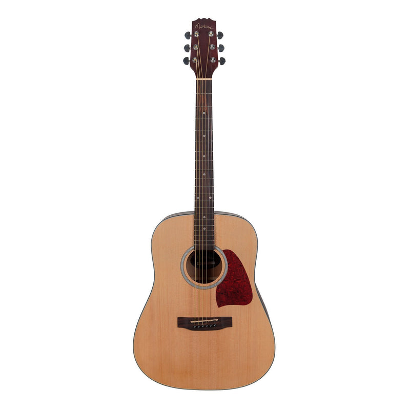 MD-31-NST-Martinez Beginner Acoustic Dreadnought Guitar (Natural Satin)-Living Music