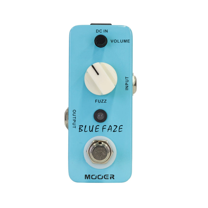 MEP-BF-Mooer Blue Faze Vintage Fuzz Micro Guitar Effects Pedal-Living Music