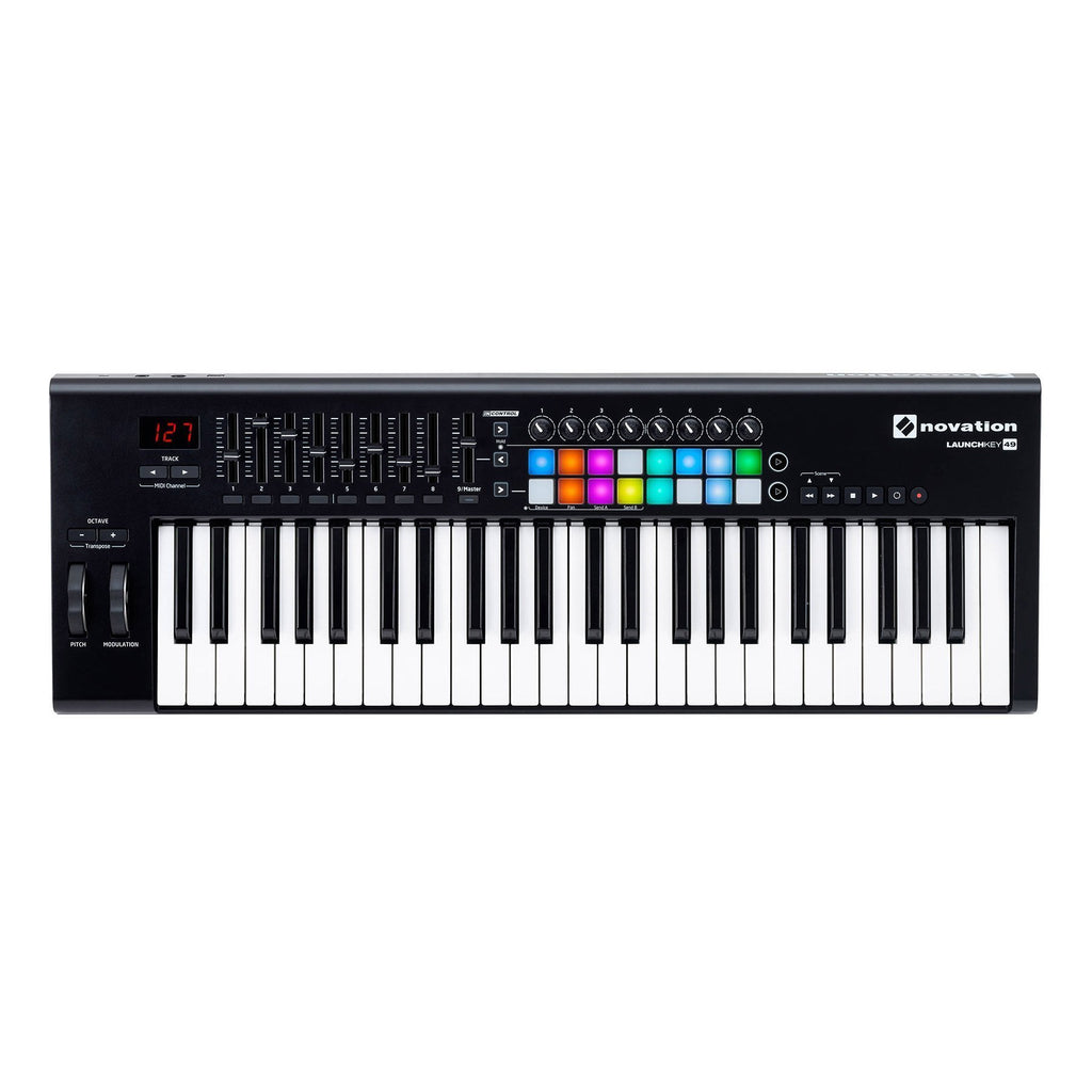 NOV-LK49MK2-Novation Launchkey Mk2 49 Key USB MIDI Controller-Living Music