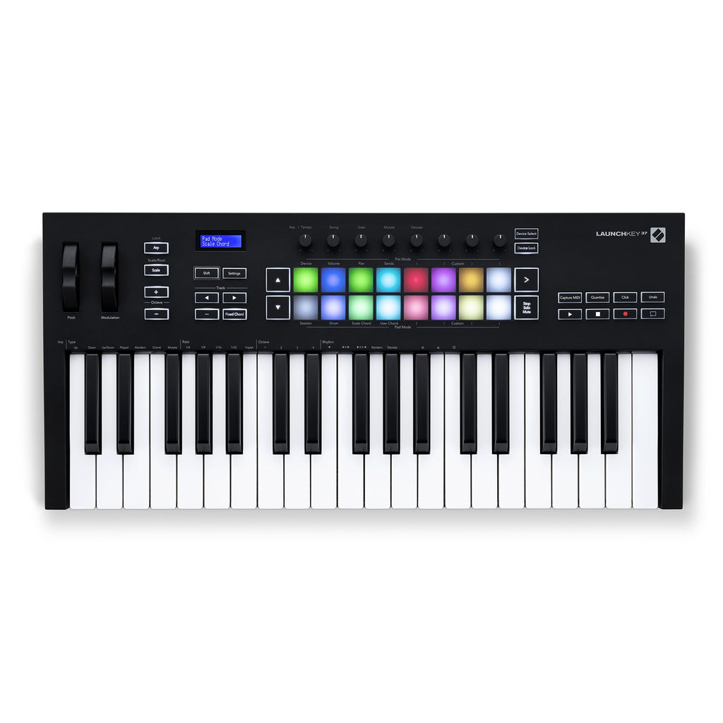 NOV-LK37MK3-Novation 'Launchkey Mk3' 37 Key USB MIDI Controller-Living Music