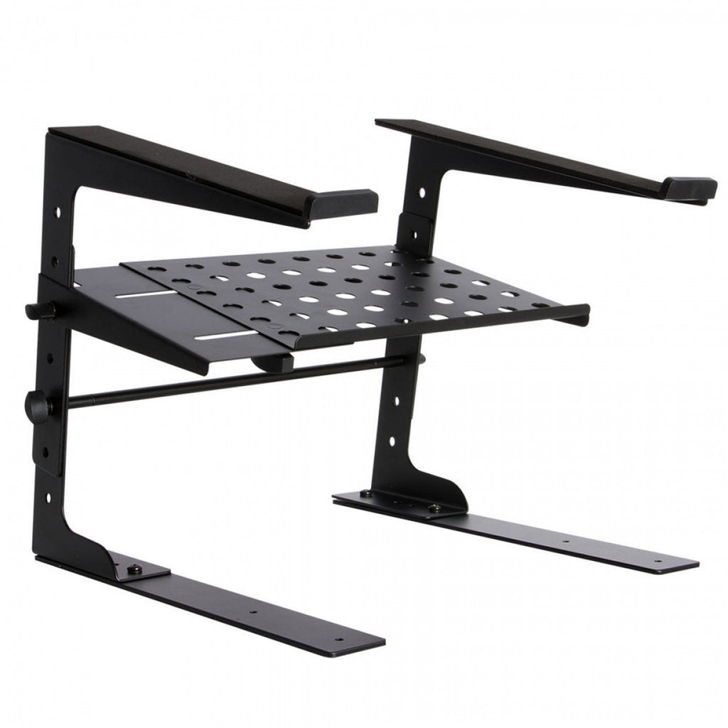 OSLPT6000-On Stage Deluxe 2-Tier Height Adjustable Laptop Stand-Living Music