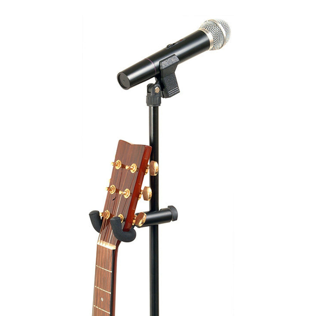 OSGS7800-On Stage U-Mount Microphone Stand Guitar Hanger-Living Music