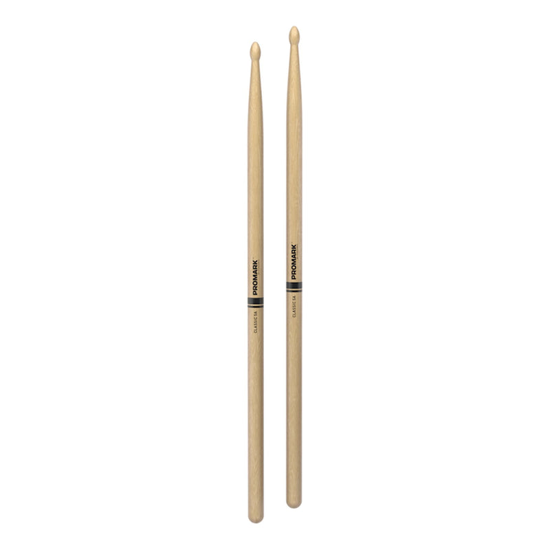 TX5AW-Promark Classic 5A Hickory Wood Tip Drumsticks-Living Music