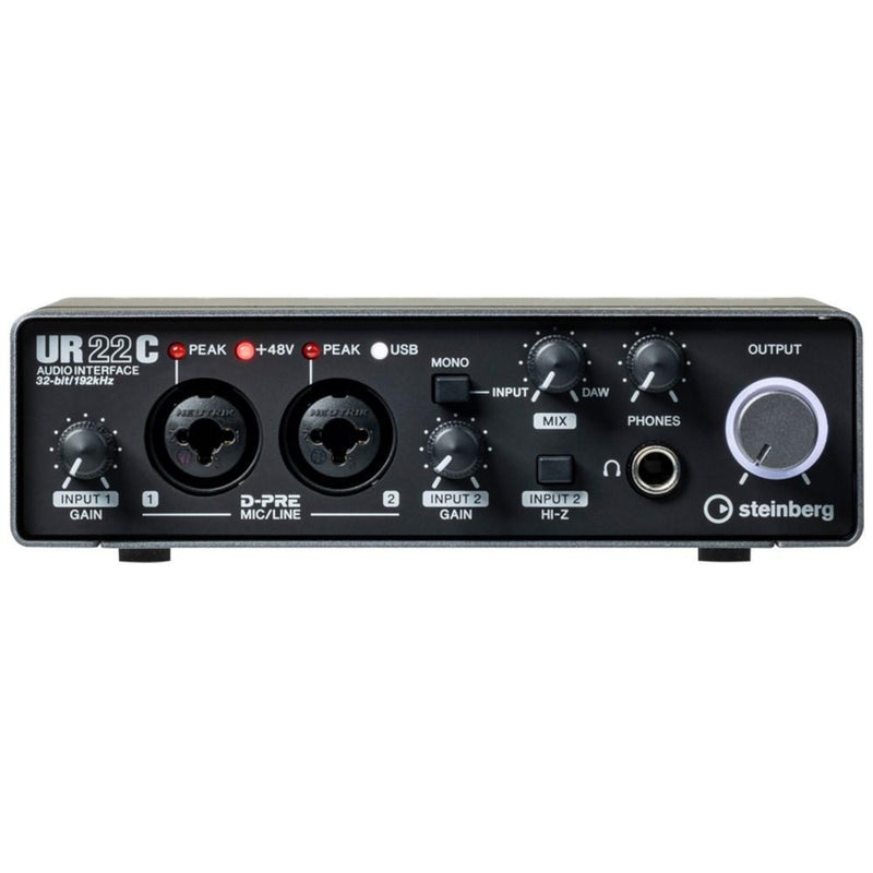 UR22C-Steinberg UR22C 32-Bit/192kHz 2 Channel USB 3.0 Audio Interface with Cubase AI-Living Music