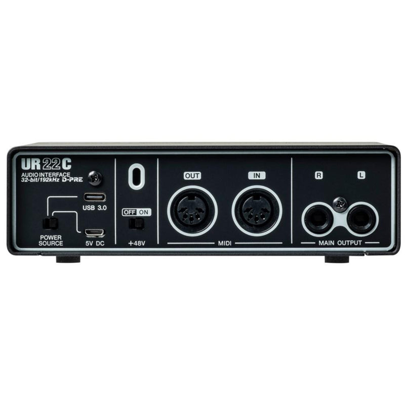 UR22C-RPACK-Steinberg 'UR22C' Recording Pack with USB Interface, Headphones, Mic and Software-Living Music