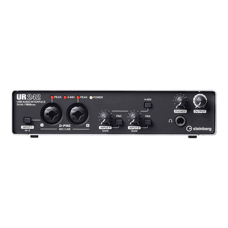 UR242-Steinberg 'UR242' 4-Channel USB Audio Interface with Cubase AI-Living Music