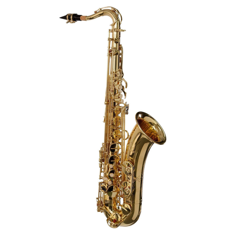 KST-10S-GLD-Steinhoff Advanced Student Tenor Saxophone (Gold)-Living Music
