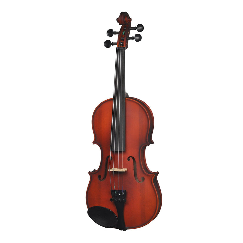KSO-V44-NST-Steinhoff Full Size Beginner Violin Outfit (Natural Satin)-Living Music