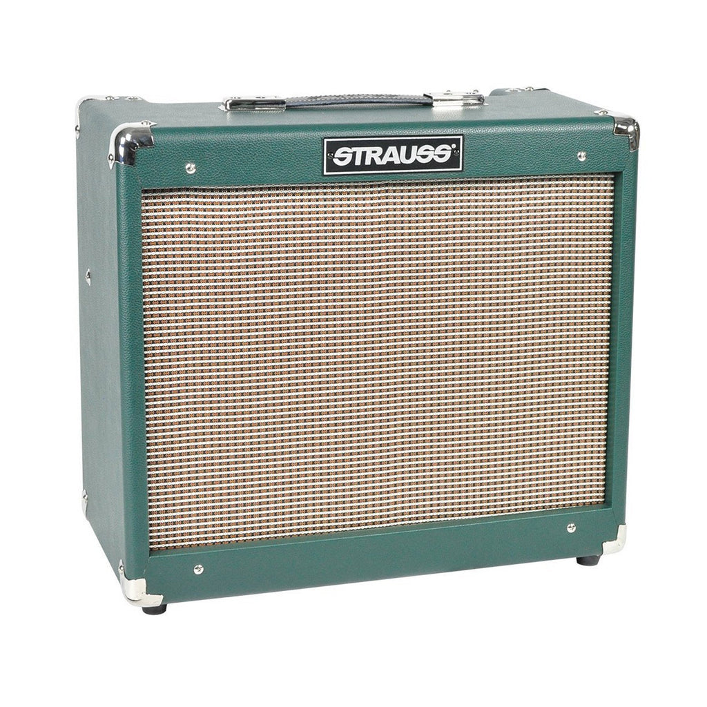 SVT-20R-GRN-Strauss SVT-20R 20 Watt Combo Valve Amplifier with Reverb (Green)-Living Music