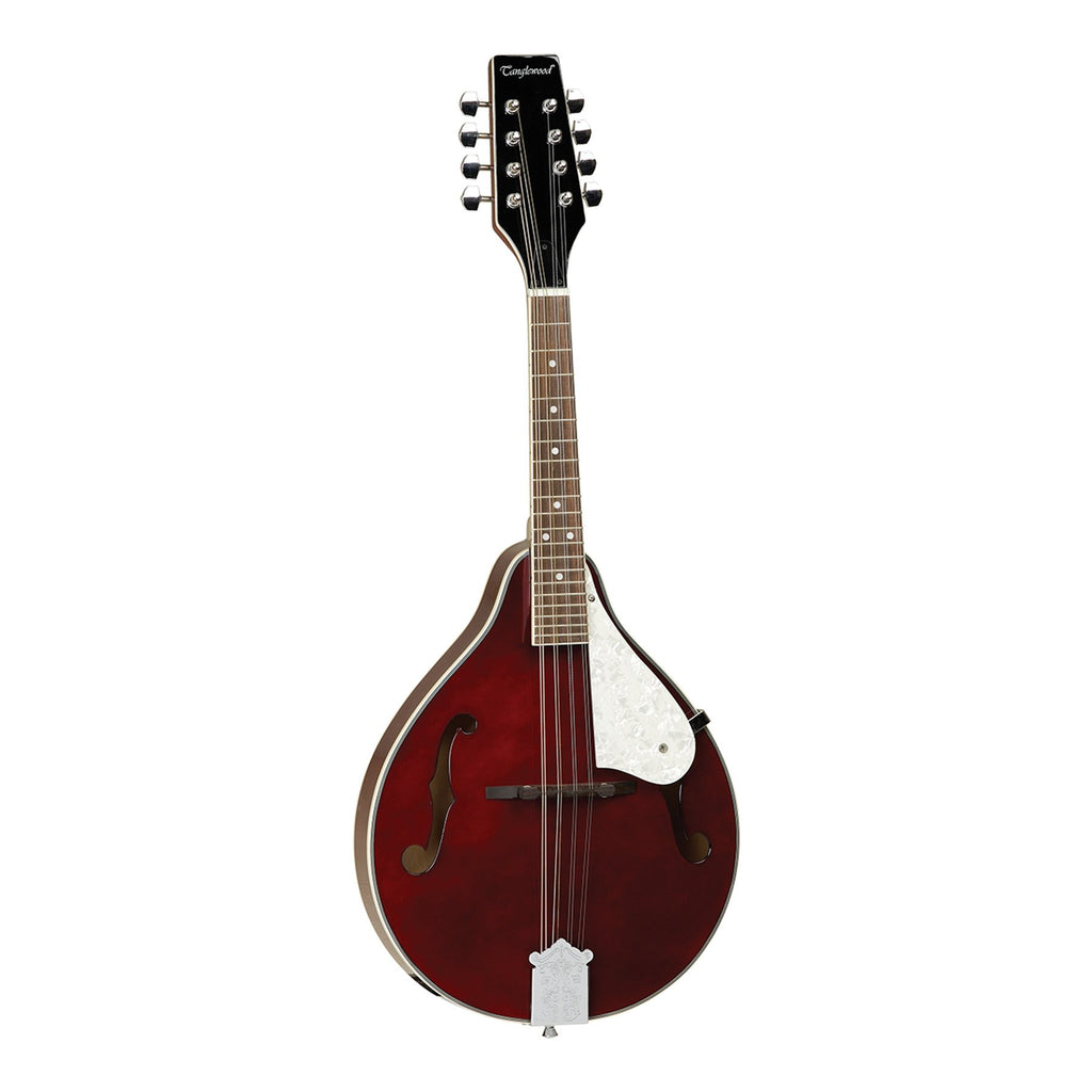 TWMTWRP-Tanglewood Teardrop Linden Mandolin (Wine Red Gloss)-Living Music